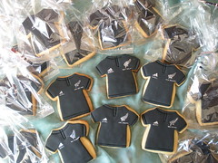 all blacks jersey cookies (The Whole Cake and Caboodle ( lisa )) Tags: newzealand black fern cookies sport cookie rugby jersey adidas kiwi allblacks whangarei caboodle thewholecakeandcaboodle