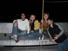 Lucas, Julia, Susana y Matias