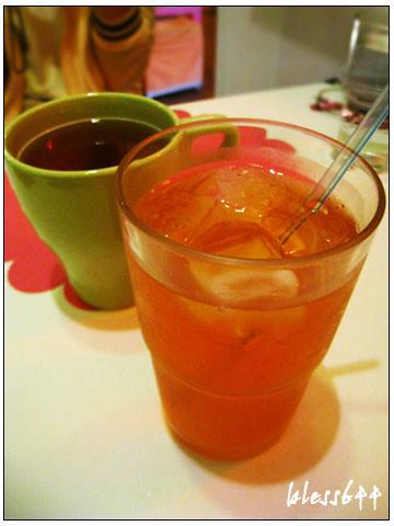 羅勒蕃茄輕飲食-水蜜桃冰茶