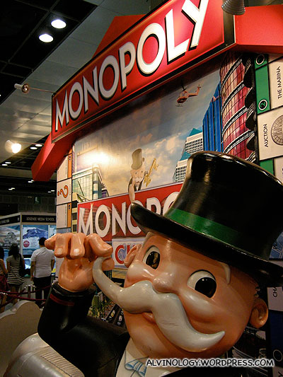 Monopoly Man says Hi!
