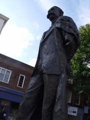 Statue of Sir Edward Elgar in Worcester
