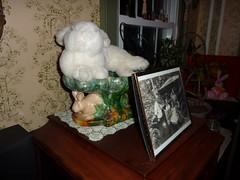 House bunny plushie