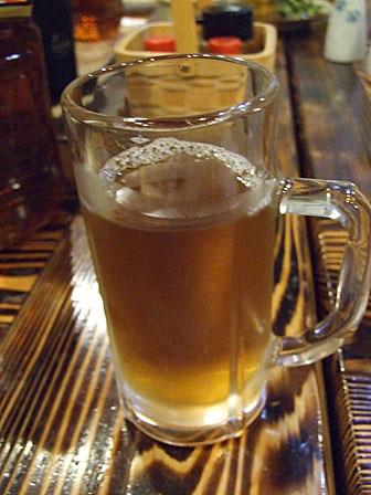 ビールぢゃないよ!ウーロン茶だよ(泣)