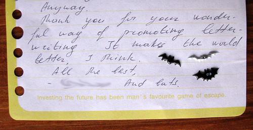 Letter-bats from Moldova