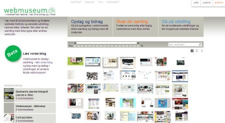 Webmuseum.dk giver dig mulighed for at browse gennem 27 års historie inden for webdesign i Danmark - og selv bidrage med nyt materiale som bruger i communitiet på sitet