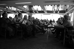 Eager anticipation! (sjoerd_reverda) Tags: pool port rotterdam union meeting information fnv firing longshoremen shb ontslagen voorlichting rustburg dockworkers bondgenoten havenwerkers