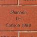 Shannon Le Carlson 1988