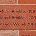 Mollie Brinkley-1991 Robert Brinkley-2004 Jessica Wood-2008