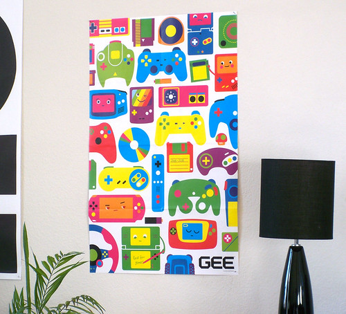Pictures For Games. Love for Games - Poster