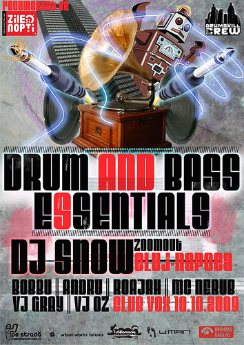 10 Octombrie 2009 » Drum and Bass Esentials