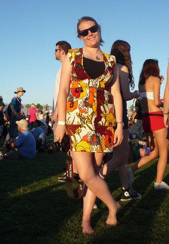 Coachella fashion street style vintage