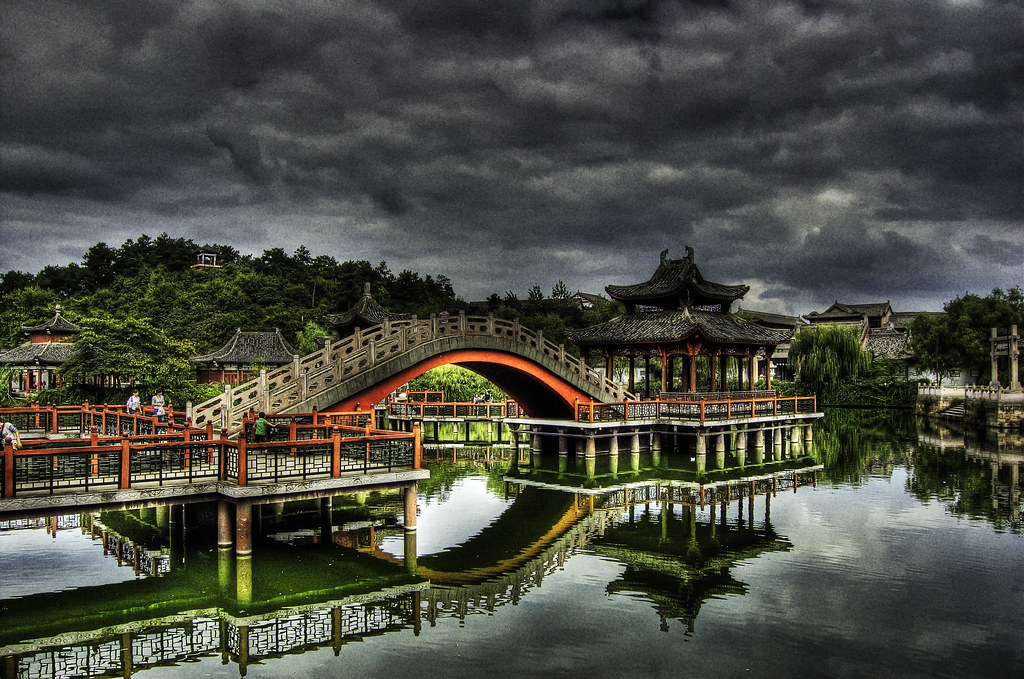 The Bridge in Hengdian.