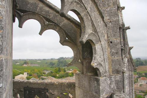 Saint Emilion Bell Tower Decorations