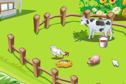 開心農場雞和豬