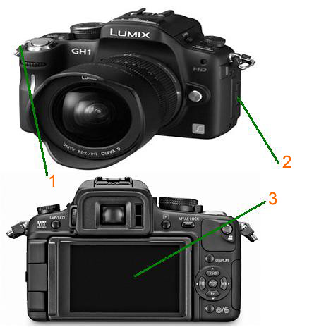 lumix GH1 copy