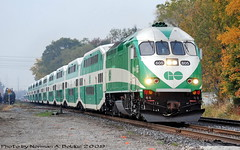 DSC_6511 (Nikon Norm) Tags: railroad train trains locomotive railways gotrain locomotives gotransit mp40 canadianrailways