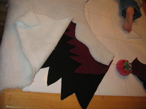 Peelu's viking cloak