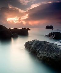 morning @ TC (mohdfar8) Tags: longexposure seascape nikon malaysia slowshutter kuantan pahang d90 flickrunitedwinner