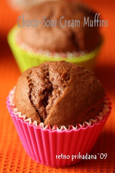 Choco-Sourcream Muffins