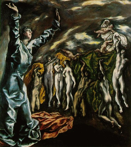 """The Opening of the Fifth Seal of the Apocalypse"" by El Greco"
