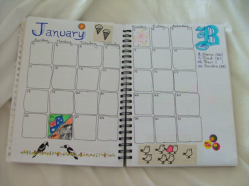 Planner: January
