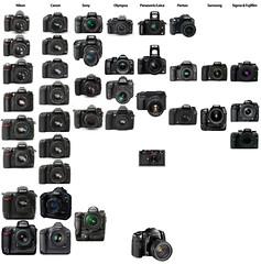 State of the DSLR market: Nikon vs. Canon vs. ...