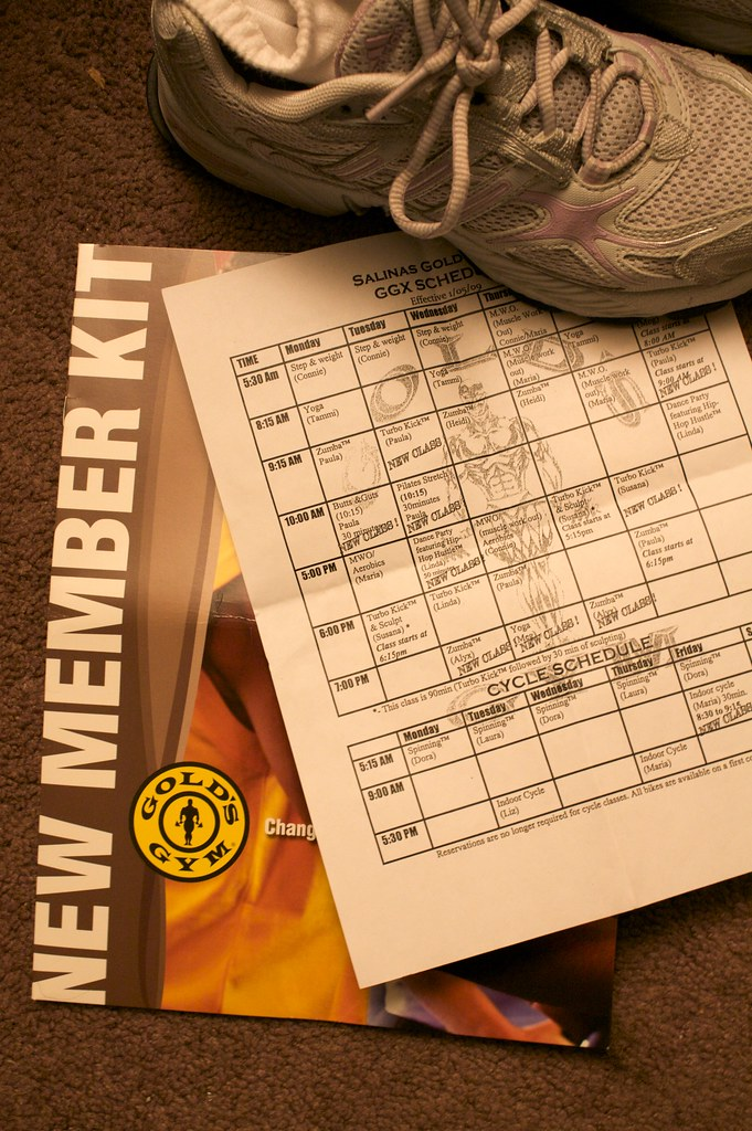 Gold Gym New Member Kit