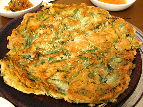 永康街韓鮮亭海鮮蔥餅