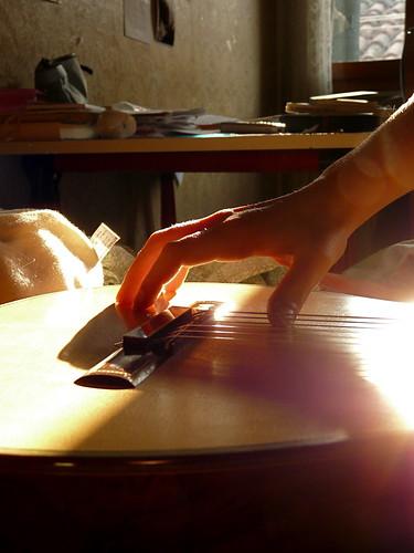 Guitar's Hand
