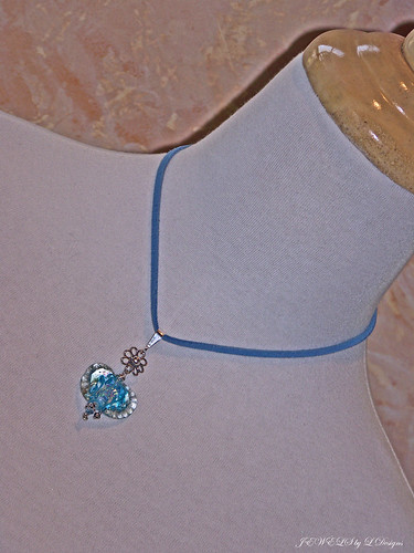 The FRILLS OF IT ALL Heart Pendant Necklace