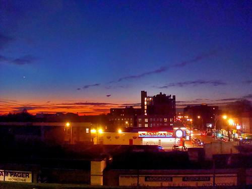 Sunset Over Bensonhurst