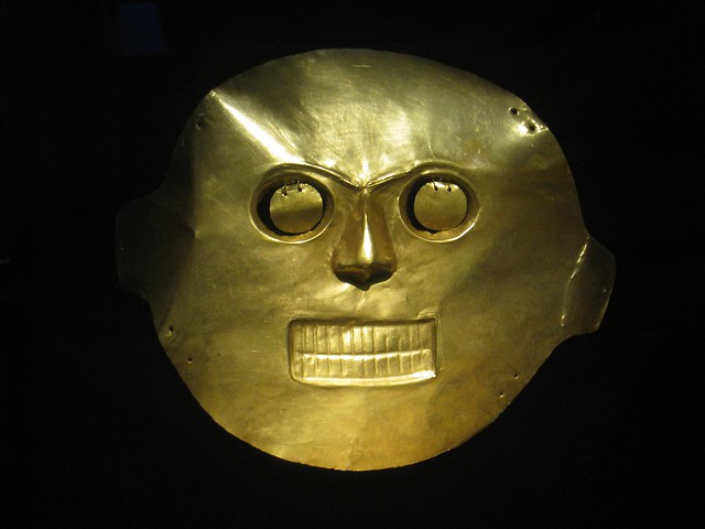 Mask at the Gold Museum