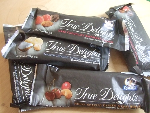 Quaker True Delights Bars