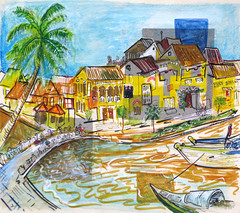 View of Hoi An - Where Sarah and Jesse Met