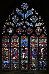 East window, St Margaret of Antioch - Crick