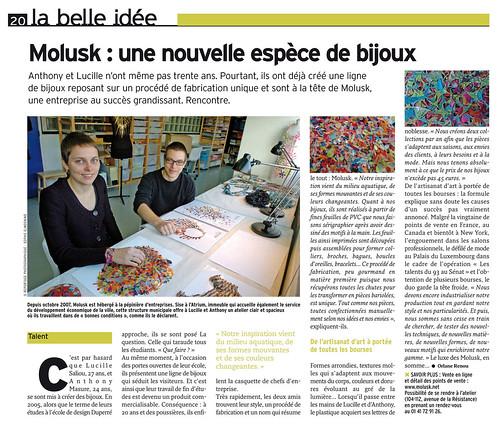 Journal Tous Montreuil n°5 - Janvier 2009