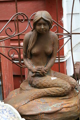 IMG_3143 (mudsharkalex) Tags: california statue mermaid sirena sanjuancapistrano nakedstatue nakedstatues nakedladystatue