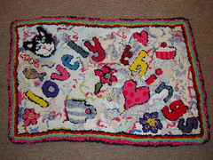 My first rag rug