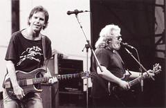 ob Weir & Jerry Garcia - Grateful Dead 8/22/87 Calaveras County Fairground, Angels Camp, California