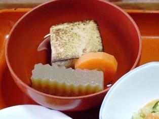 焼き豆腐の煮付け
