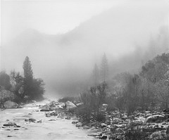 Mist o stream | Yosemite National Park, USA (ART SRISAK | PHOTOGRAPHY) Tags: california bw mamiya film mediumformat yosemite pros waterscape silhuette monart autaut rb67pros filmforward artsrisak