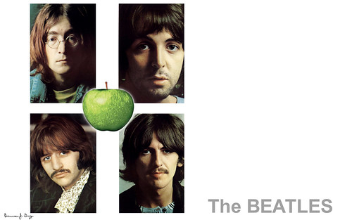 beatles wallpaper. Beatles Wallpaper - White