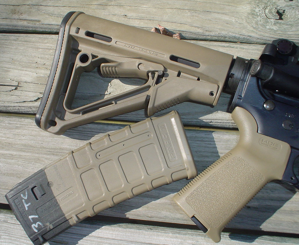 Best Paint To Match Magpul Fde