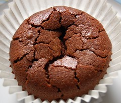 chocolate mini cupcake