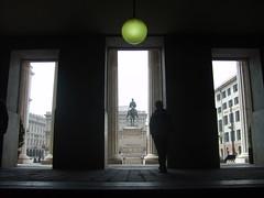 (Cherry_Ci@) Tags: life light boy italy art love monument italia liguria ombre genova luci lui chiaroscuro amore luce ragazzo