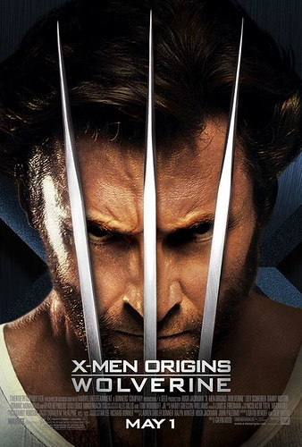 X-men Origin: Wolverine Movie Poster