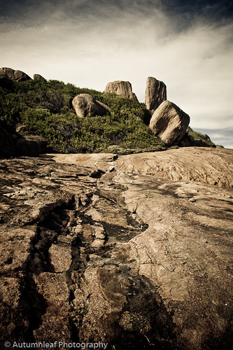 Beautiful rocks at the Thistle Cove, Cape Le Grand