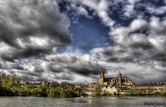 Salamanca. (benitojuncal) Tags: santa españa rio river vieja catedral leon salamanca nueva semana hdr castilla tormes