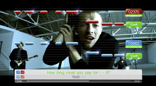 "SingStar - Coldplay ""In My Place"""