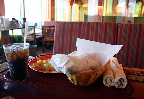 Mike's Burrito Basket and Taters (Carnival Splendor)